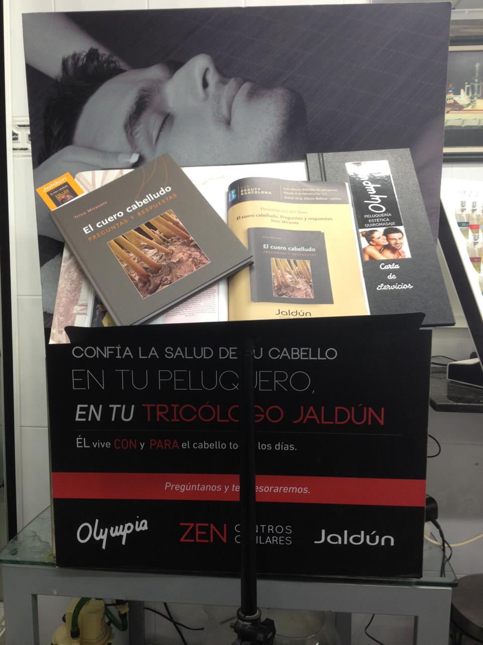 Olympia Zen Centros Capilares. Libro 'El cuero cabelludo' – Jaldún
